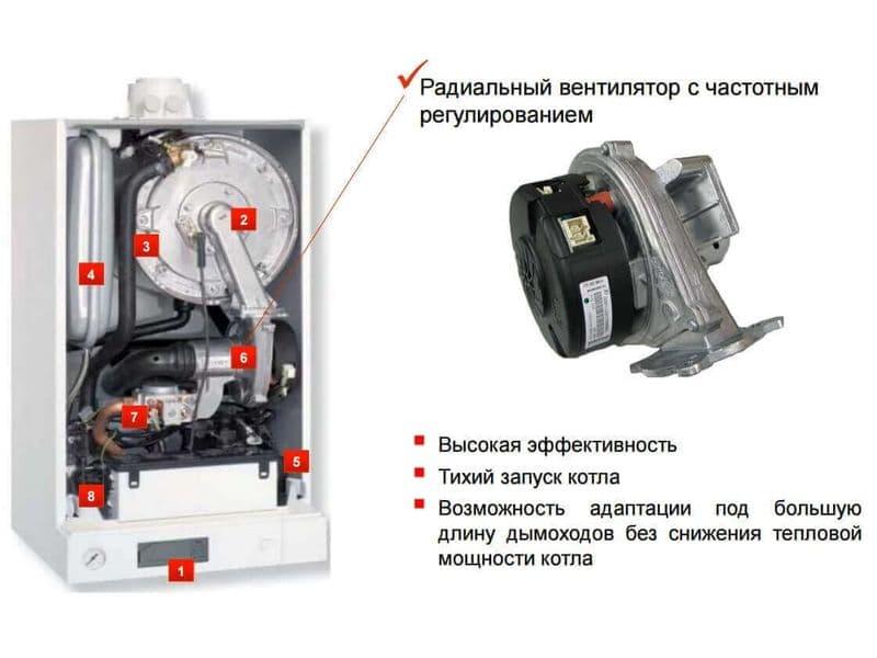 VIESSMANN VITODENS 100 B1KC 26-35 кВт + труба антилед, фото 8