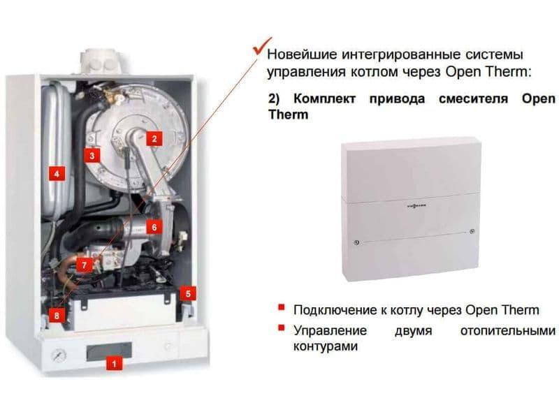 VIESSMANN VITODENS 100 B1KC 26-35 кВт + труба антилед, фото 6